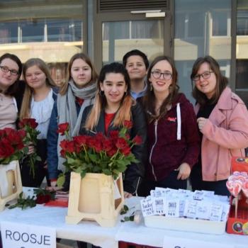 Valentijnsactie leerlingenraad