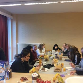 Samen aan de ontbijttafel