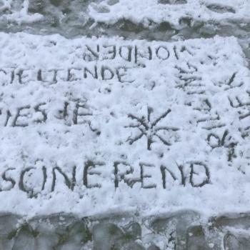Sneeuwgedicht door 4STWA