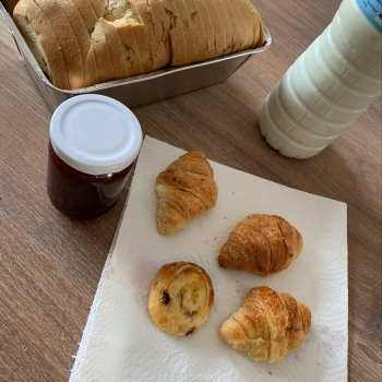 Ontbijt in de klas