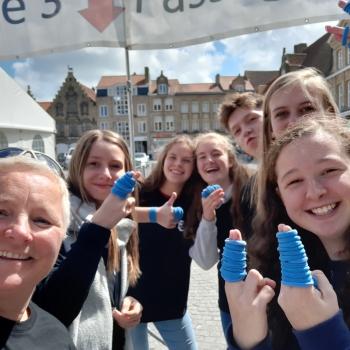 Helpende handen voor de Sporkin-kwart-triathlon