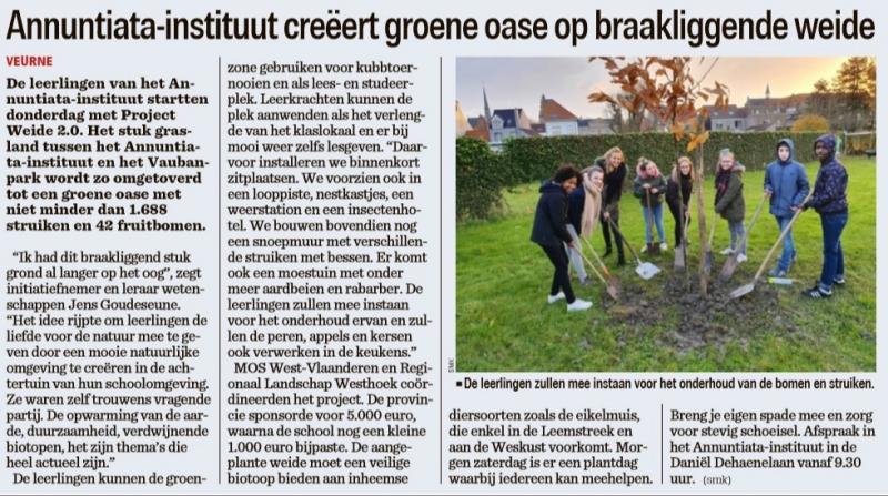 20191129-artikel-in-het-nieuwsblad-annuntiataweide